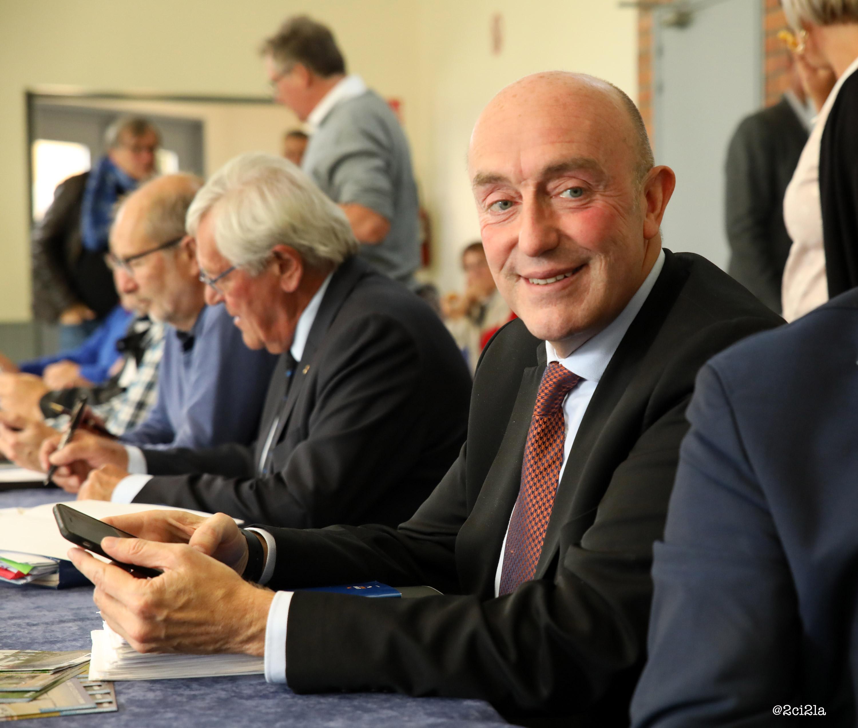 Stéphane Haussoulier-président du syndicat mixte baie de Somme