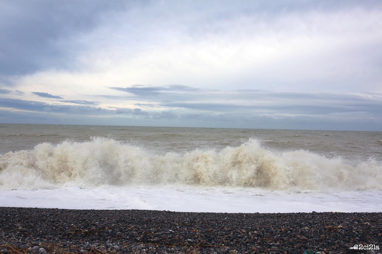 Grande marée, novembre 2016. Cayeux-sur-Mer.