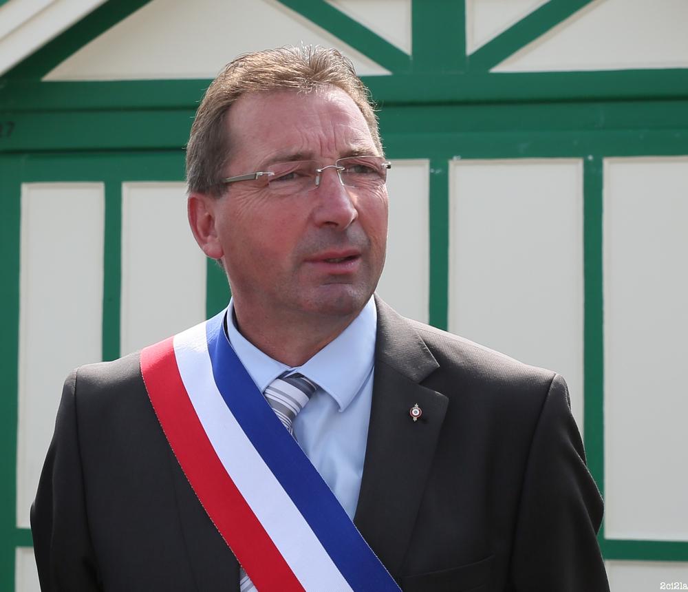 Jean-Paul Lecomte, maire de Cayeux-sur-Mer