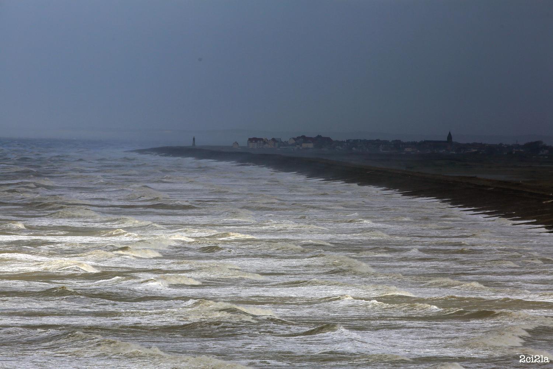 La temp te est pass e cayeux sur mer for Garage cayeux sur mer