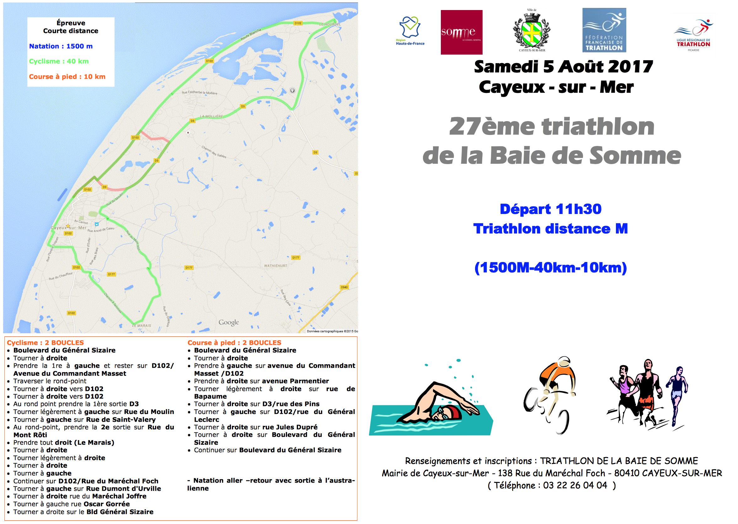 triathlon 2017 Cayeux-sur-Somme