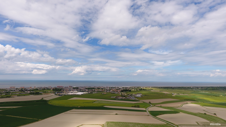 Cayeux-sur-mer. Vue aérienne mai 2017
