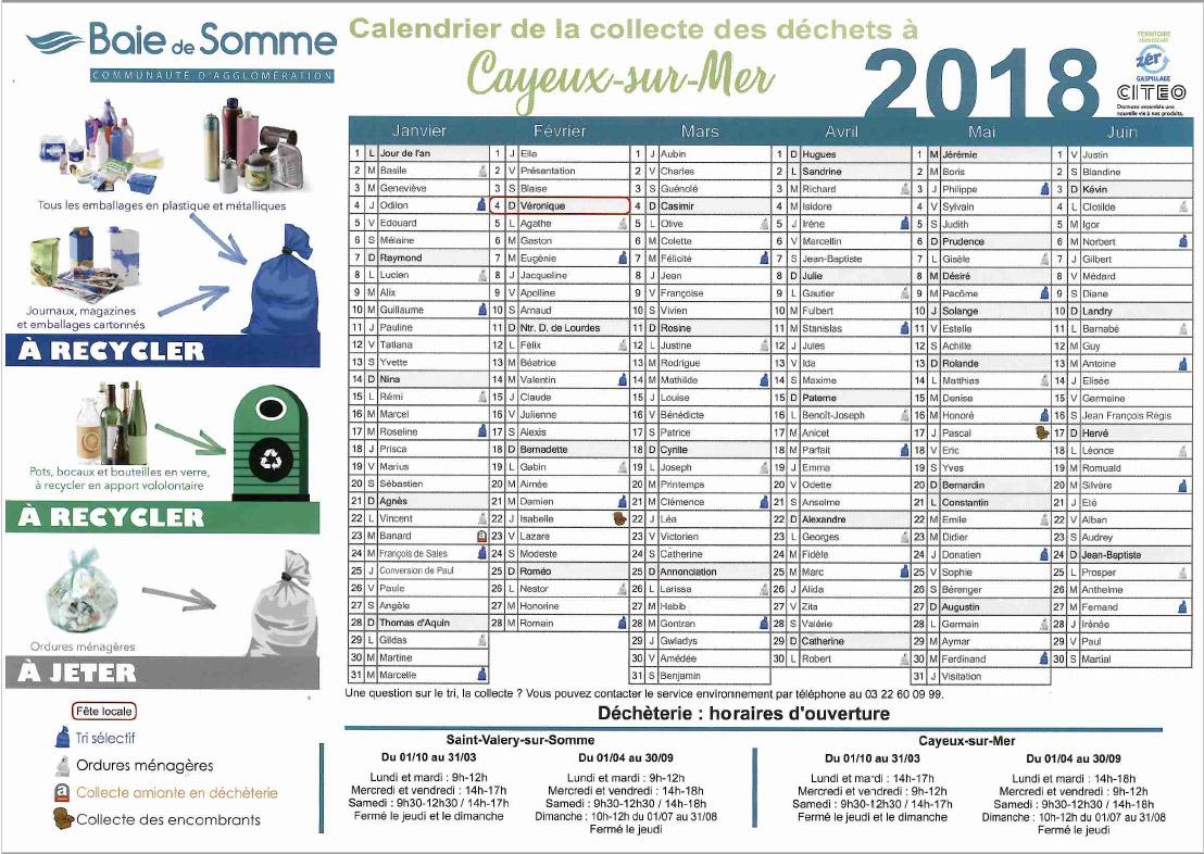 calendrier-de-collecte-des-déchets-cayeux-sur-mer-deuxième-semestre-2018