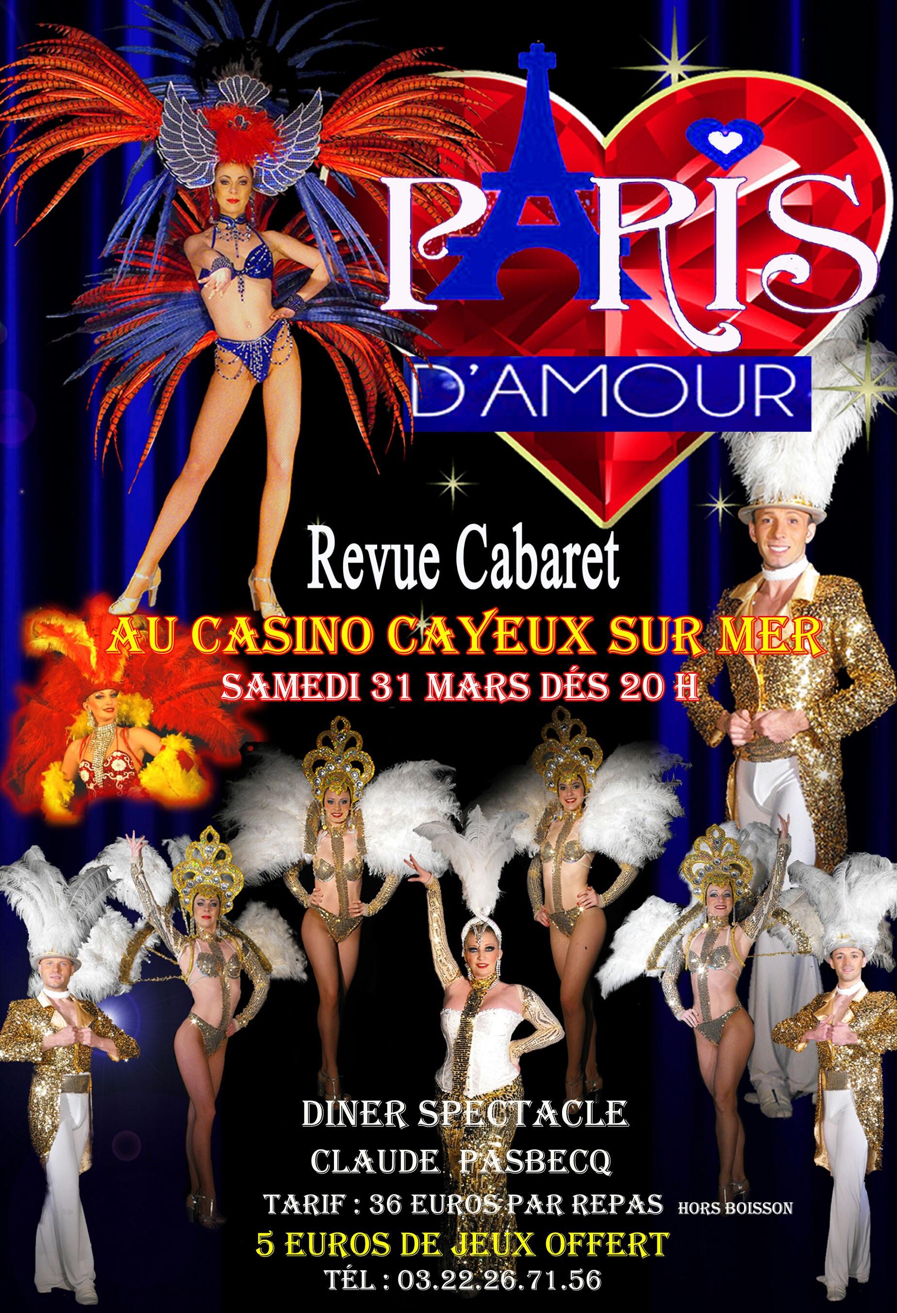 Diner Cabaret 31.03.18 PARIS d'AMOUR
