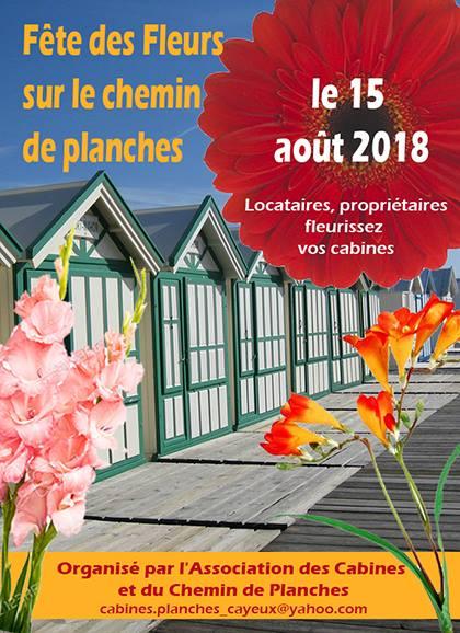 fleurissez vos cabines-fête des fleurs cayeux-sur-mer 2018