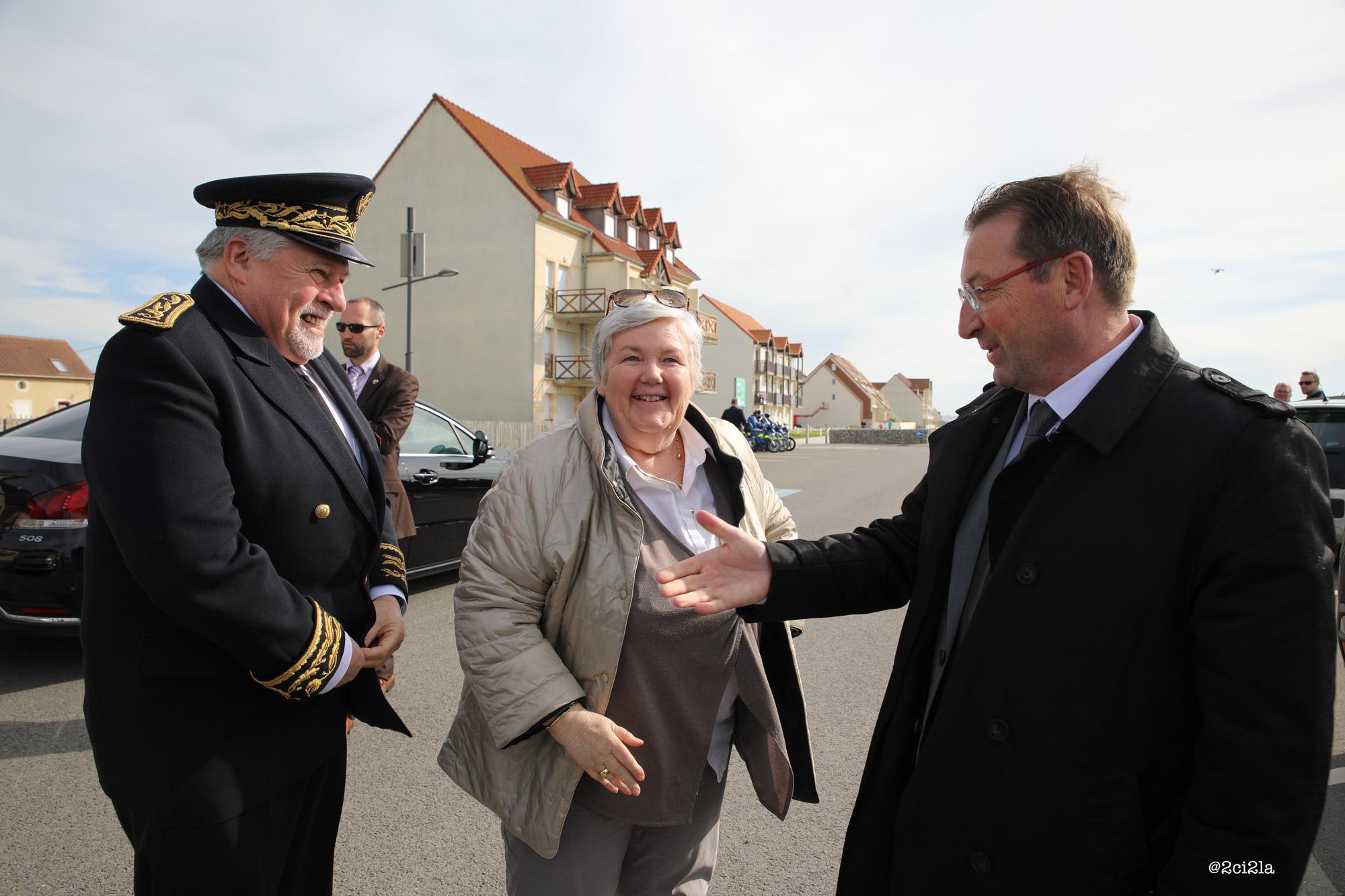 Jacqueline Gourault Cayeux-sur-mer