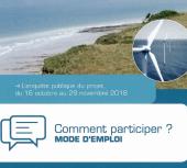 Eoliennes en mer : Enquête publique du 16 octobre au 29 novembre 2018